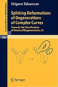 Lecture Notes in Mathematics #1886: Splitting Deformations of Degenerations of Complex Curves: Towards the Classification of Atoms of Degenerations, III