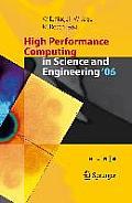 High Performance Computing in Science & Engineering 06 Transactions of the High Performance Computing Center Stuttgart Hlrs 2006