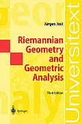 Riemannian Geometry and Geometric Analysis, 3rd Edition (International Association of Geodesy Symposia) Cover