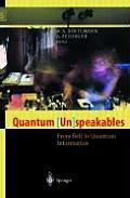 Quantum (Un)Speakables