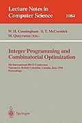 Lecture Notes in Artificial Intelligence #1084: Integer Programming and Combinatorial Optimization