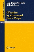 Diffraction by an Immersed Elastic Wedge
