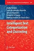 Studies in Computational Intelligence #164: Intelligent Text Categorization and Clustering Cover