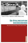 de-Stalinisation Reconsidered: Persistence and Change in the Soviet Union