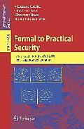 Formal to Practical Security: Papers Issued from the 2005-2008 French-Japanese Collaboration