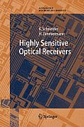 Springer Series in Advanced Microelectronics #23: Highly Sensitive Optical Receivers