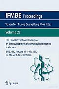 The Third International Conference on the Development of Biomedical Engineering in Vietnam: BME2010January 11 – 14th, 2010Ho Chi Minh City, VIETNAM