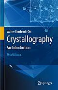 Crystallography An Introduction 3rd Edition