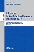 Advances in Artificial Intelligence - IBERAMIA 2010: 12th Ibero-American Conference on AI, Bahia Blanca, Argentina, November 1-5, 2010 Proceedings