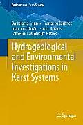Environmental Earth Sciences #1: Hydrogeological and Environmental Investigations in Karst Systems