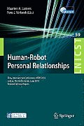 Lecture Notes of the Institute for Computer Sciences, Social #59: Human-Robot Personal Relationships: Third International Conference, Hrpr 2010, Leiden, the Netherlands, June 23-24, 2010, Revised Sele Cover
