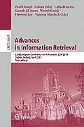 Advances in Information Retrieval: 33rd European Conference on IR Resarch, ECIR 2011, Dublin, Ireland, April 18-21, 2011, Proceedings