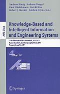 Knowledge-Based and Intelligent Information and Engineering Systems: 15th International Conference, KES 2011, Kaiserslautern, Germany, September 12-14