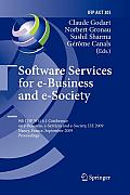 IFIP Advances in Information and Communication Technology #305: Software Services for E-Business and E-Society: 9th Ifip Wg 6.1 Conference on E-Business, E-Services and E-Society, I3e 2009, Nancy, Fra