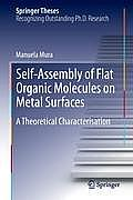 Self-Assembly of Flat Organic Molecules on Metal Surfaces: A Theoretical Characterisation