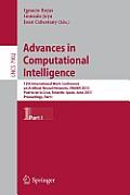 Advances in Computational Intelligence: 12th International Work-Conference on Artificial Neural Networks, Iwann 2013, Puerto de La Cruz, Tenerife, Spa