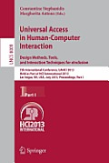Lecture Notes in Computer Science / Information Systems and #8009: Universal Access in Human-Computer Interaction: Design Methods, Tools, and Interaction Techniques for Einclusion: 7th International C