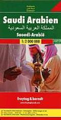 Saudi Arabien 1 : 2 000 000. Autokarte