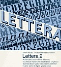Lettera, Vol. 2: A Standard Book of Fine Lettering (Lettera)