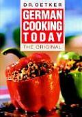 German Cooking Today The Original
