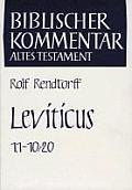 Leviticus (1,1-10,20)