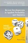 Recent Developments in Applied Probability and Statistics: Dedicated to the Memory of J?rgen Lehn