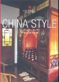 China Style: Exteriors Interiors Details (Icons) Cover