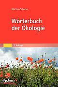Worterbuch Der Okologie
