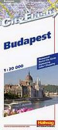 International Folded Map-Cityflash Budapest (Rand McNally Cityflash Visitor Maps)