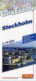 International Folded Map-Cityflash Stockholm (Rand McNally Cityflash Visitor Maps)