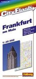 Frankfurt on the Main City Flash Map (City Flash Maps)