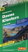 Davos Klosters Hiking Map