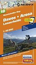 Davos Arosa Lenzerheide Mountainbike Map