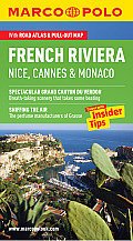 French Riviera Nice, Cannes & Monaco Marco Polo Guide [With Map]