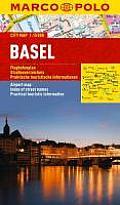 Marco Polo Basel City Map (Marco Polo City Maps)