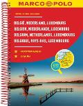 Belgium/Netherlands/Luxembourg Marco Polo Road Atlas: 1:200 000 (Marco Polo Road Atlases) by Marco Polo