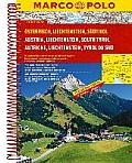 Austria/Liechtenstein/South Tyrol Marco Polo Road Atlas: 1:200 000/1:4.5 M (Marco Polo Road Atlases) by