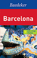 Barcelona Baedeker Guide (Baedeker: Foreign Destinations) Cover