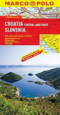 Croatia / Slovenia Marco Polo Map (Marco Polo Maps) by Marco Polo (cor)