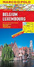 Belgium / Luxembourg Marco Polo Map (Marco Polo Maps) by Marco Polo (cor)