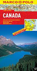 Canada Marco Polo Map (Marco Polo Maps)