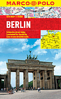 Berlin Marco Polo City Map (Marco Polo City Maps) by Marco Polo Travel Publishing (cor)