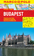 Budapest Marco Polo City Map (Marco Polo City Maps) by Marco Polo (cor)