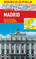 Madrid Marco Polo City Map Cover