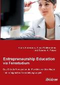 Entrepreneurship Education Via Fernstudium