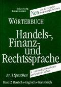 Worterbuch Der Handels Finanz Band2