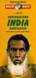 Northeastern India Bangladesh Map