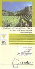 Weinwanderweg Rhein - Nahe 1 : 50 000