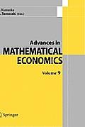 Advances in Mathematical Economics Volume 9
