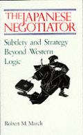 Japanese Negotiator Subtlety & Strategy